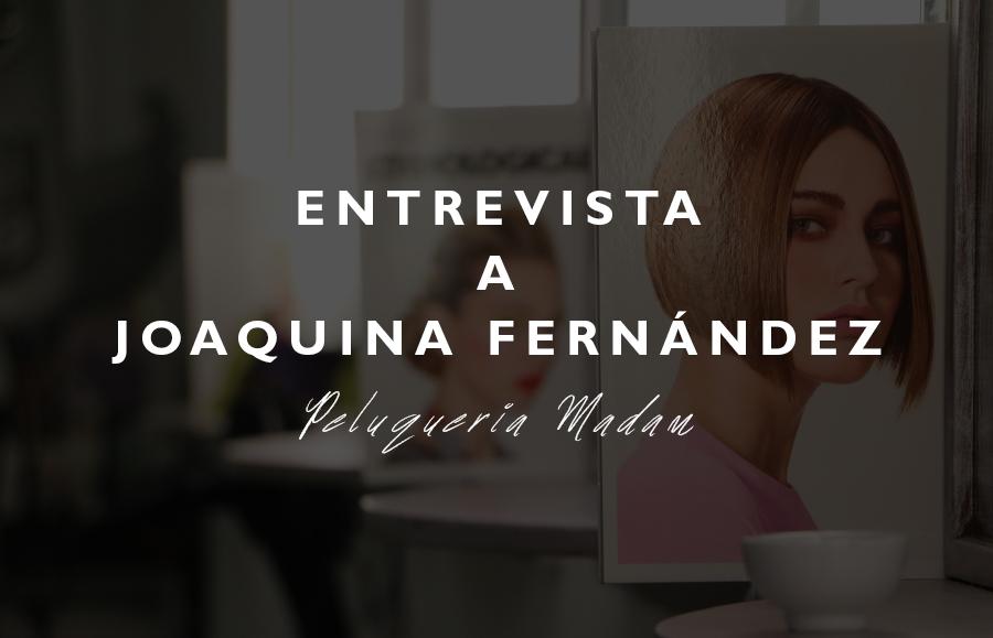 ENTREVISTA A JOAQUINA FERNÁNDEZ